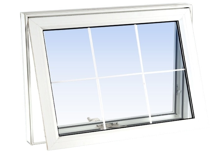 awning windows white