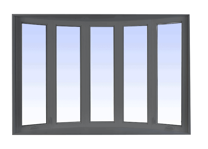 bow windows grey