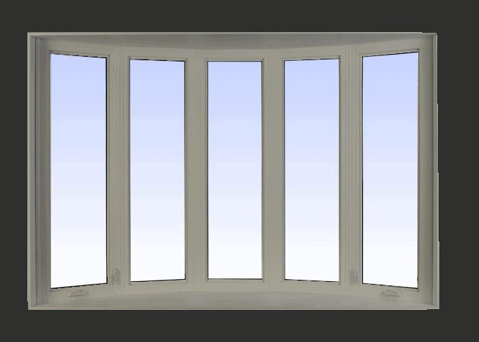bow windows hickory