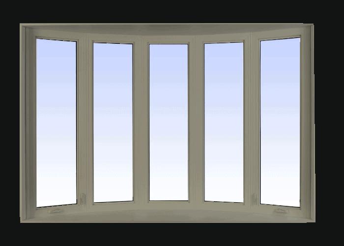 bow windows pebble