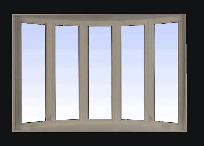 bow windows sandstone