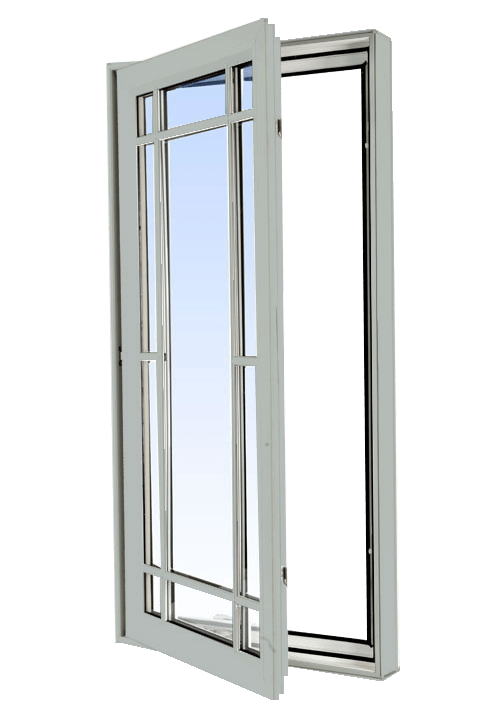 casement windows dover grey