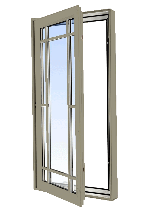 casement windows pebble