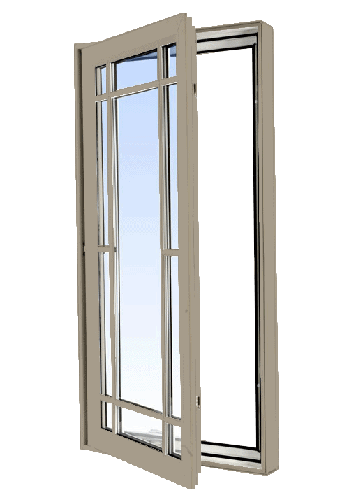 casement windows sandstone