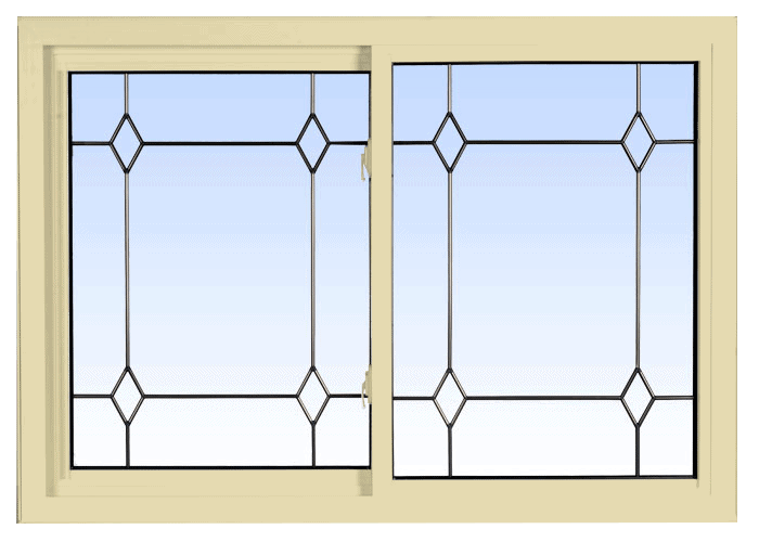 double lift out slider windows cream