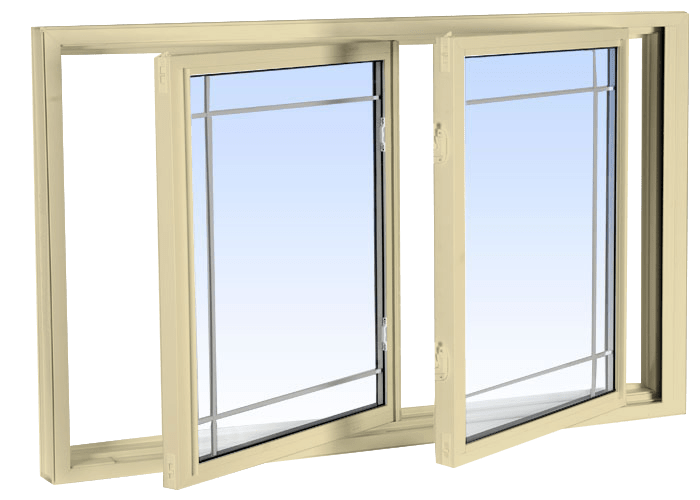 double tilt slider windows cream