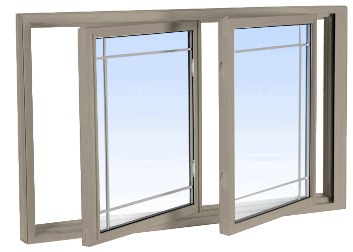 double tilt slider windows sandstone