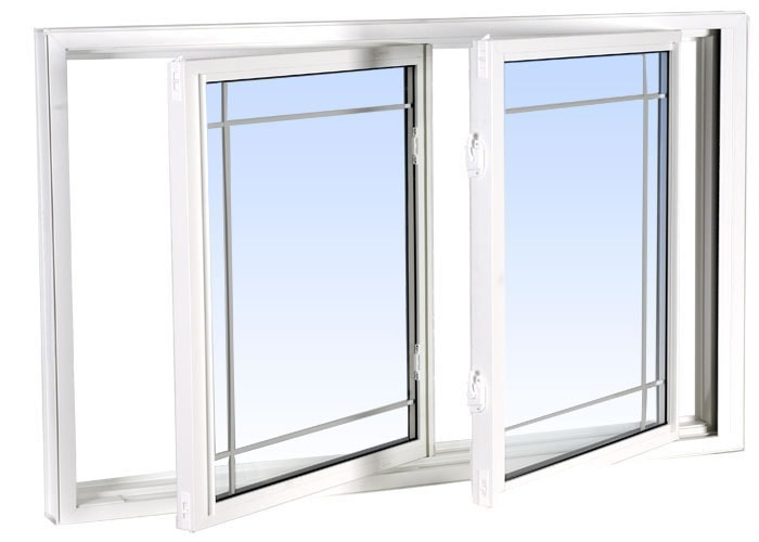 double tilt slider windows white