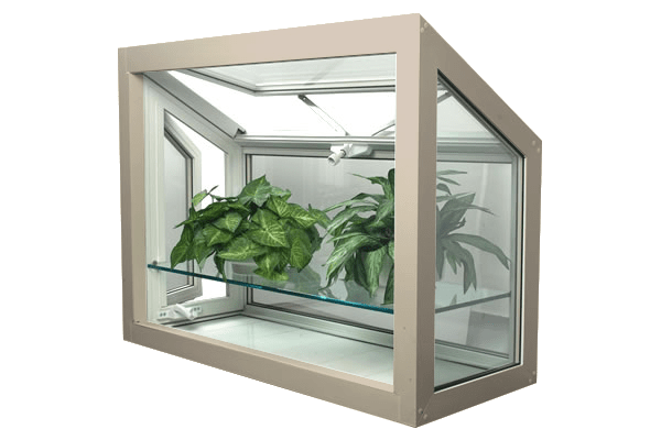 greenhouse windows sandstone