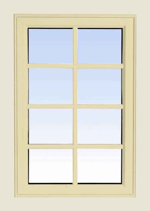 high profile fixed windows cream