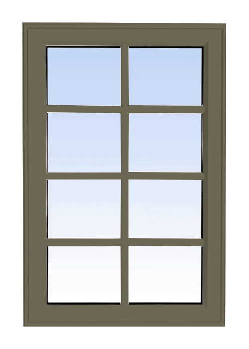 high profile fixed windows sable