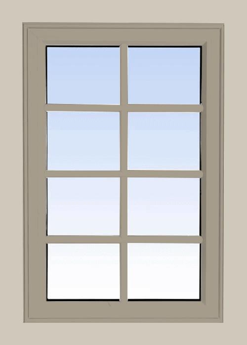 high profile fixed windows sandstone