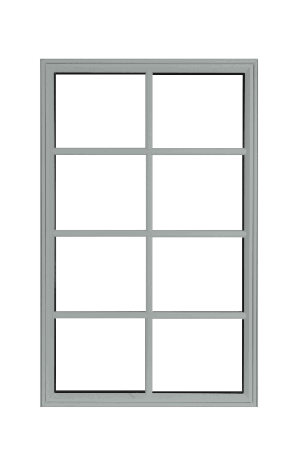 low profile fixed windows dover grey