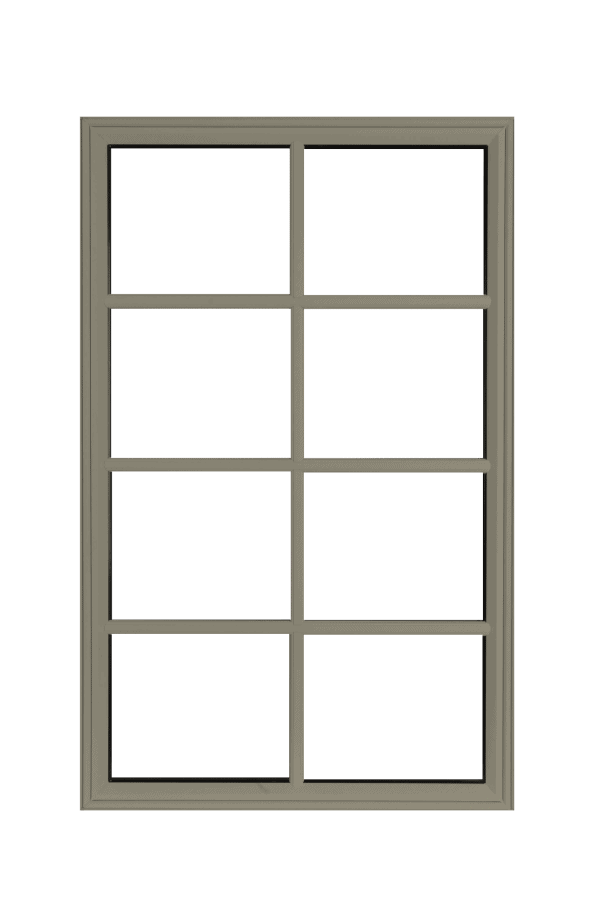low profile fixed windows pebble