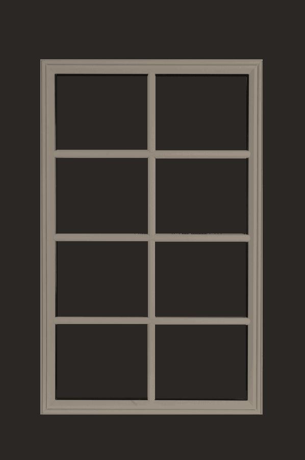 low profile fixed windows sandstone