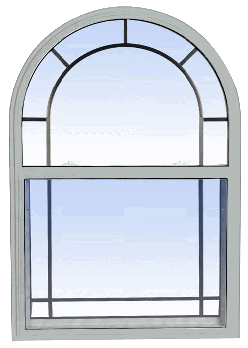 single hung windows dover grey