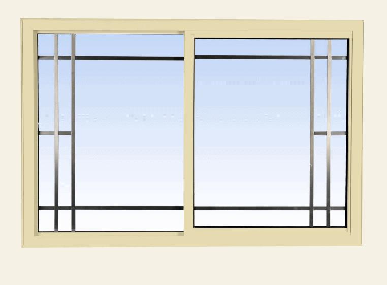 single slider lift out windows cream
