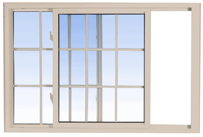 single tilt slider windows sandalwood