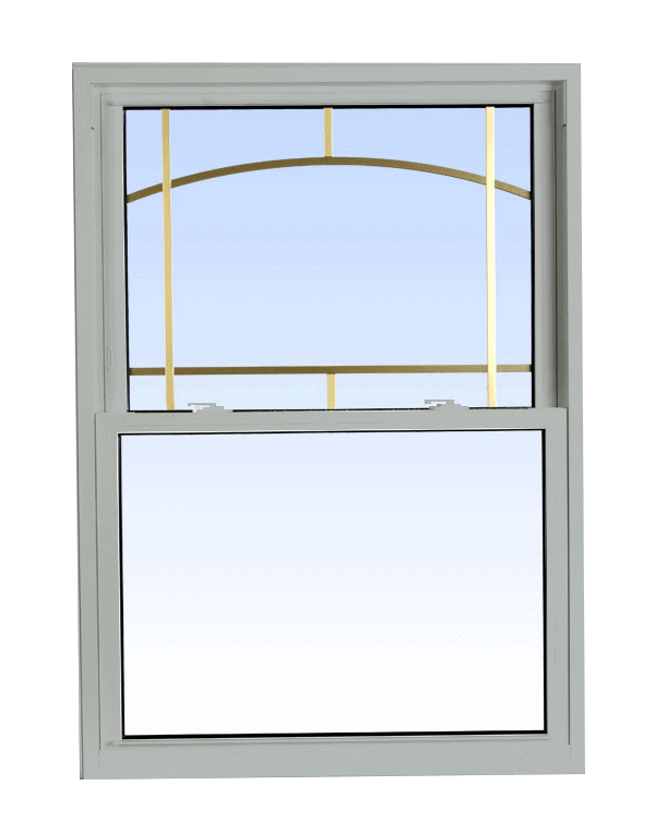 double hung windows dover grey