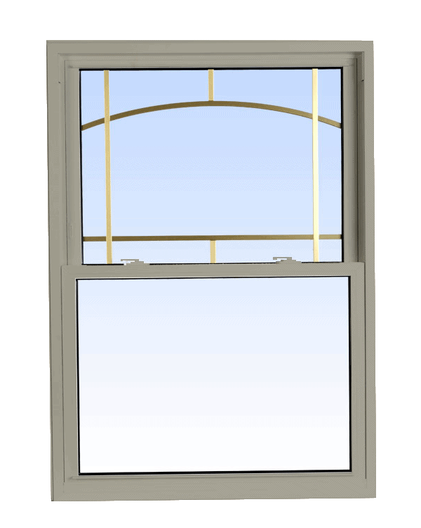 double hung windows hickory