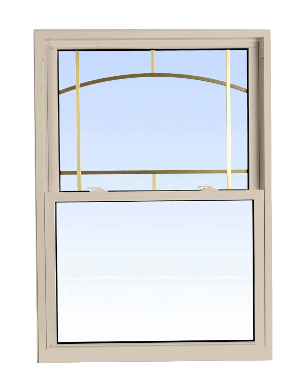 double hung windows sandalwood