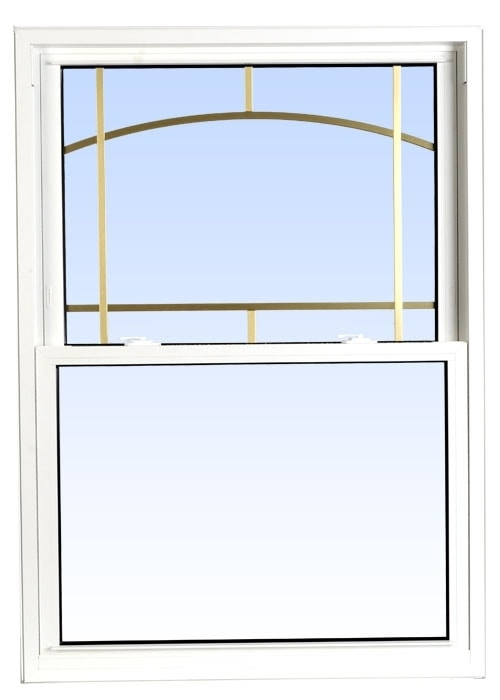 double hung windows white