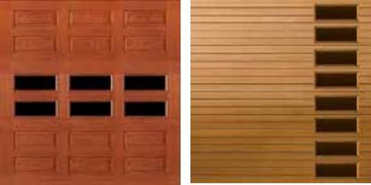 wood garage door texture. Fiberglass Garage Door Window Placement Wood Texture