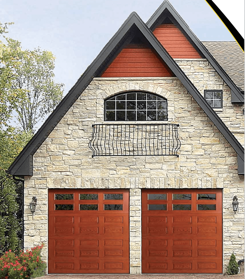 doors fiberglass designer luxury garage great for