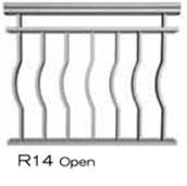 aluminum railing style 13