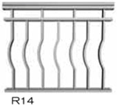 aluminum railing style 28