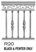 aluminum railing style 29