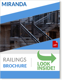 aluminum railings brochure Miranda