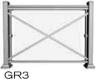 glass railing style 3