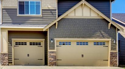Doube  Garage Doors